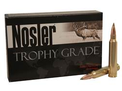 Nosler Trophy Grade Ammunition 338 Winchester Magnum 225 Grain E-Tip Box of 20