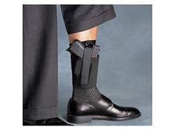 Galco COP Ankle Band Holster Glock 26, 27, 33, 43, M&P Shield, Walther PPS Padded Elastic Black