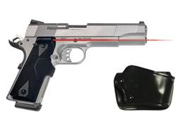 Crimson Trace Lasergrips 1911 Government, Commander Front Activation Polymer Black with Gould & G...