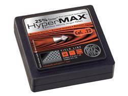 RWS HyperMax Alloy Airgun Pellets 22 Caliber 9.9 Grain Conical Head Lead-Free Tin of 80