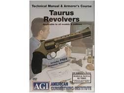 "American Gunsmithing Institute (AGI) Technical Manual & Armorer's Course Video ""Taurus Revolvers""..."