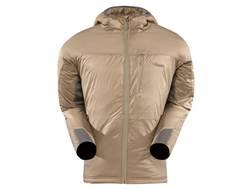 Sitka Gear Men's Kelvin Lite Insulated Hooded Sweatshirt Polyester Dirt Medium