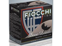 """Fiocchi Game & Target Ammunition 12 Gauge 2-3/4"""" 1 oz #7-1/2 Shot"""