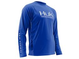 Huk Men's Performance Vented Shirt Long Sleeve Polyester