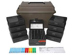 MTM Ammo Can Combo 50 Caliber Plastic Dark Earth with 10 Flip-Top Ammo Boxes 380 ACP, 9mm Luger 1...