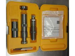 L.E Wilson Stainless Steel Bushing Full Length Die Set with Micrometer Top Bullet Seater and Case...