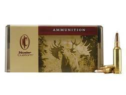 Nosler Custom Ammunition 300 Remington Short Action Ultra Magnum 180 Grain AccuBond Spitzer Box o...