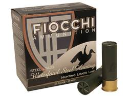 "Fiocchi 34 Speed Steel Ammunition 12 Gauge 3"" 1-1/5 oz #3 Non-Toxic Plated Steel Shot Box of 25"