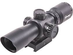 Firefield Barrage Rifle Scope 1.5-5x 32mm Illuminated Mil-Dot Reticle with Integral Weaver-Style ...