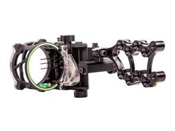 "Trophy Ridge Fix Series 3-Pin Bow Sight with Light .019"" Pin Diameter Right Hand Black"