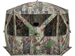 "Barronett Pentagon Ground Blind 96"" x 96"" x 72"" Polyester Bloodtrail Camo"