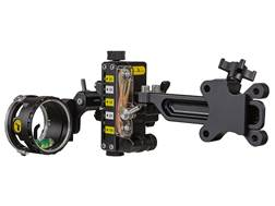 "Trophy Ridge React-One Pro Dovetail 1-Pin Bow Sight with Light .019"" Pin Diameter Right Hand Black"