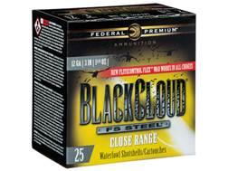 """Federal Premium Black Cloud Close Range Ammunition 12 Gauge 3"""" 1-1/4 oz #2 Non-Toxic FlightStoppe..."""