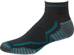 Merrell Men's Trail Glove Elite Mini Socks Synthetic Black/Mallard Medium