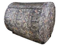 Beavertail 3-Man Hay Bale Ground Blind 600D Fabric Realtree Max-4 Camo