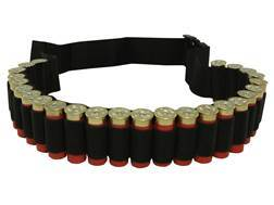 MidwayUSA Shotshell Ammunition Carrier Belt 25-Round Black