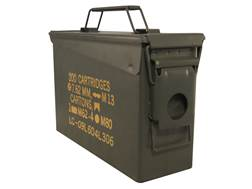 "Military Surplus Ammo Can 30 Caliber 10"" x 3-1/2"" x 7"""