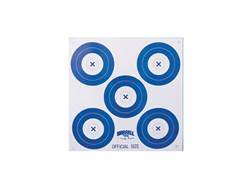 Morrell Paper Archery Target 5 Spot Pack of 100