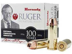 Hornady William B. Ruger Commemorative Ammunition 480 Ruger 325 Grain XTP Mag Box of 20