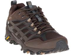 "Merrell Moab FST 4"" Waterproof Hiking Shoes Leather/Synthetic Men's"
