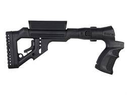 FAB Defense Tactical Side Folding Buttstock with Adjustable Cheek Rest Mossberg 500, 590 Syntheti...