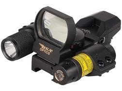 BSA Pano Reflex Red Dot Sight Red and Green 4 Reticle (3 MOA Dot, Crosshair, 10 MOA Dot Crosshair...