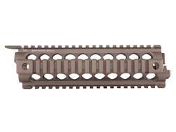 Midwest Industries 2-Piece Gen 2Handguard Quad Rail AR-15 Mid Length Aluminum Flat Dark Earth- Bl...