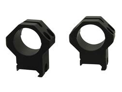 Weaver 30mm Tactical 4-Hole Picatinny-Style Rings Matte X-High