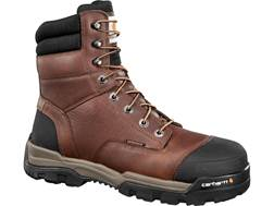 "Carhartt Energy 8"" Waterproof Composite Safety Toe Work Boots Leather"