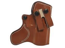 DeSantis Inner Piece Inside the Waistband Holster Right Hand Glock 19, 23, 32, 36 Leather Tan
