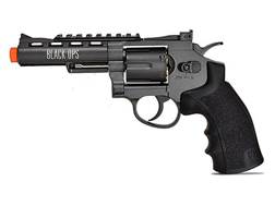 "Black Ops Exterminator Revolver 4"" Barrel Air Pistol 177 Caliber BB"