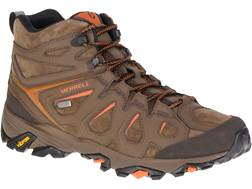 "Merrell Moab FST LTR Mid 5"" Waterproof Hiking Boots Leather"