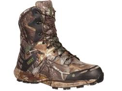 "Rocky Broadhead 8"" Waterproof 400 Gram Insulated Hunting Boots Ripstop Realtree Xtra Camo Men's"