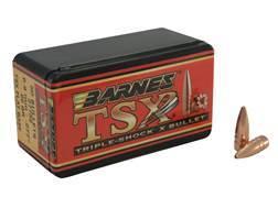 Barnes Triple-Shock X Bullets 6.8mm Remington SPC (277 Diameter) 85 Grain Hollow Point Flat Base ...