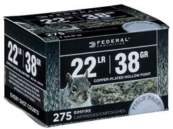 Federal Ammunition Field Pack 22 Long Rifle 38 Grain Plated Lead Hollow Point
