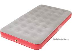 Coleman Quickbed Plus Single High Air Mattress PVC Gray and Red