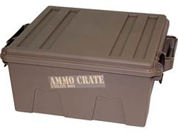 MTM Ammo Crate Polypropylene Dark Earth