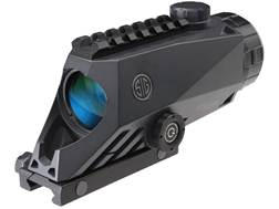 Sig Sauer Bravo 4 Prism Sight 4x 30mm 1/2 MOA Adjustments Illuminated Reticle Picatinny-Style Mou...