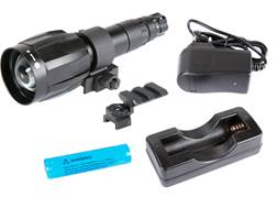 Armasight XLR-IR850 Detachable X-Long Range Infrared Illuminator with IRDS Adapter #115, Recharge...