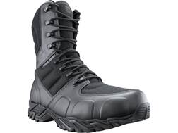 "BLACKHAWK! Street 8"" Side Zip Tactical Boots Leather/Nylon"