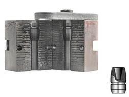 Lyman 1-Cavity Bullet Mold #356637 9mm (356 Diameter) 124 Grain Devastator Hollow Point Bevel Base