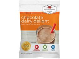 Wise Food Long Term 25 Year 4 Serving Chocolate Dairy Delight Freeze Dried Food
