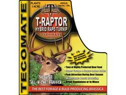 Tecomate T-Raptor Hybrid Rape-Turnip Annual Food Plot Seed 5 lb