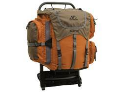 ALPS Mountaineering Red Rock Frame Backpack Aluminum and Polyester Ripstop Rust