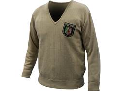Military Surplus German Police Sweater V-Neck Grade 2 Large Khaki