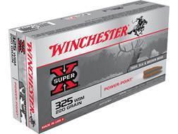 Winchester Super-X Ammunition 325 Winchester Short Magnum (WSM) 220 Grain Power-Point