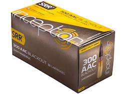 PolyCase Inceptor Sport Utility Ammunition 300 AAC Blackout 88 Grain Frangible SRR Lead-Free