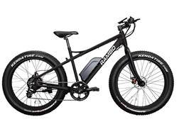 Rambo Bikes 500 Watt Motorized Fat Bike Matte Black