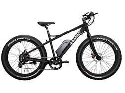 Rambo Bikes 500 Watt Motorized Fat Bike Matte Black