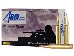 ABM Mission Ready-Tactical Ammunition 300 Winchester Magnum 185 Grain Berger Match Juggernaut OTM...